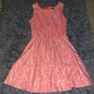 5/$20 Three Hearts size small lace pink dress